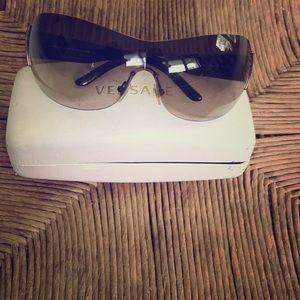 Original pair of Versace sunglasses glam wrap